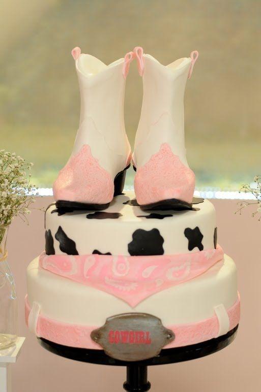 Pasteles Decorados - Modelado en azucar - Torta CowGirl - Creaciones Nancy