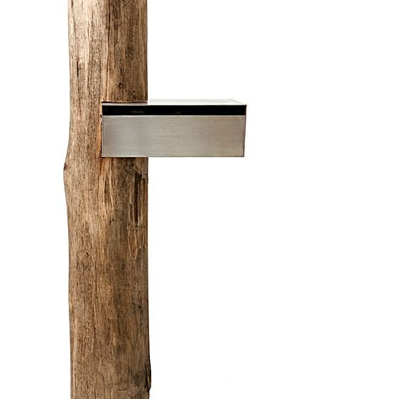 Architectural Hardware Dan Kelly Letterbox with Stump Post by Robert Plumb