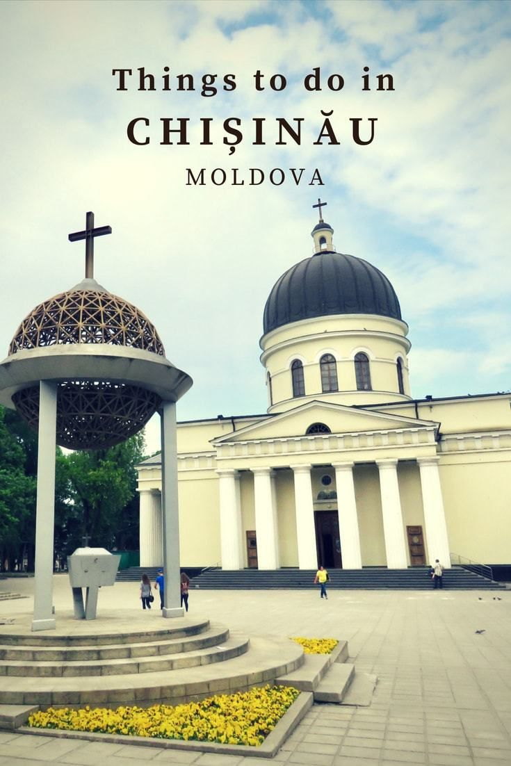 Before traveling to Chisinau, I expected a run-down old grey Soviet city. But there are plenty of things to do in Chisinau for tourists. Read this post to find out what to do in Chisinau. #travel #europe #offthebeatentrack #moldova