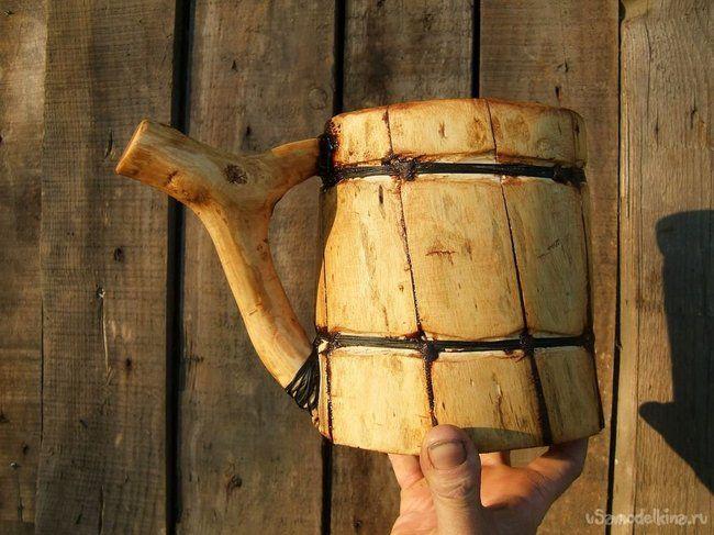 Пивная кружка викингов (без электроинструментов)