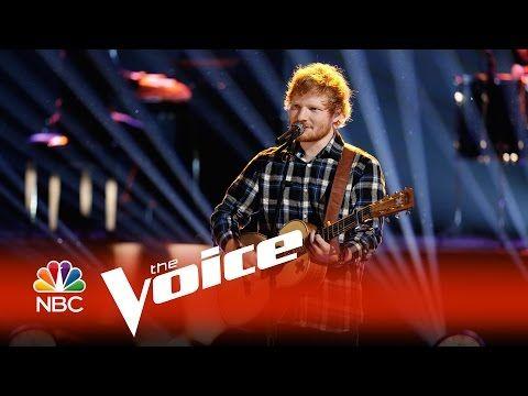 "Ed Sheeran: ""Photograph"" - The Voice 2015 - YouTube"