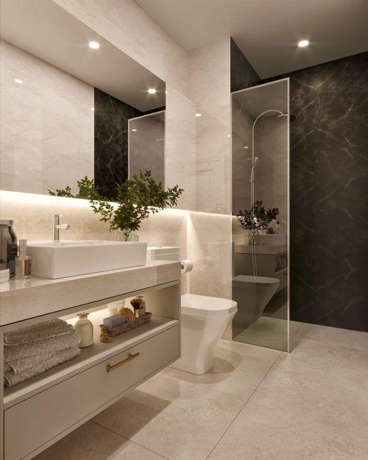 Schones Badezimmer Mit Ebenerdiger Dusche Wendi Gabelhouse Badezimmer Badezimmer Gestalten Schone Badezimmer