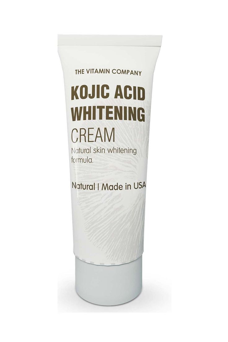 Made in USA KOJIC ACID WHITENING CREAM of THE VITAMIN COMPANY is a world renowned skin lightening formula. It has no side effects as it contains natural ingredients like Japanese Mushrooms, Arbutin & Licorice Root Extract.