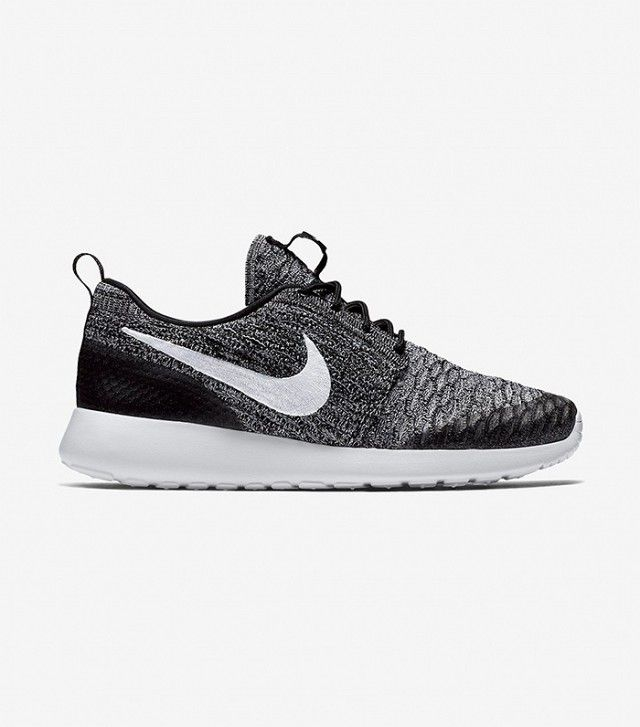 Nike Roshe Run Flyknit - White / Black / Wolf Grey / Pure Platinum | Roshe,  Nike roshe and Wolf