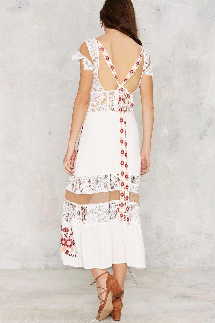 For Love & Lemons Cecelia Maxi Dress | Shop Clothes at Nasty Gal!
