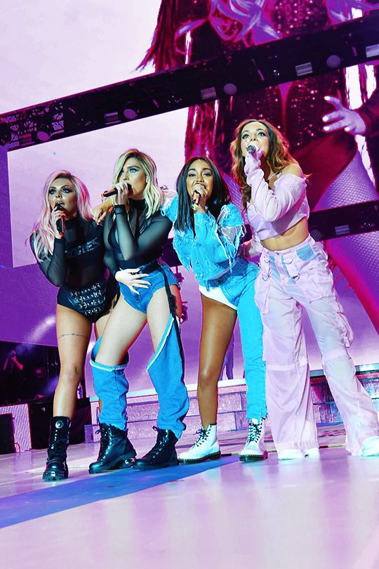 Little Mix performing at Capital FM's Summertime Ball