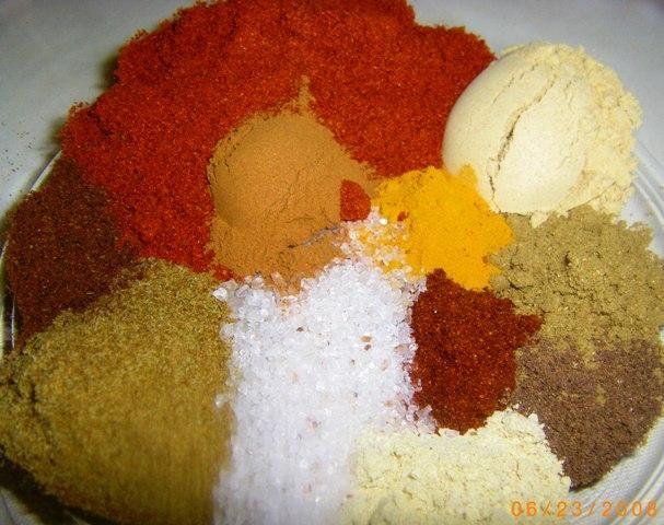 Berbere - hot spice ethiopian mix