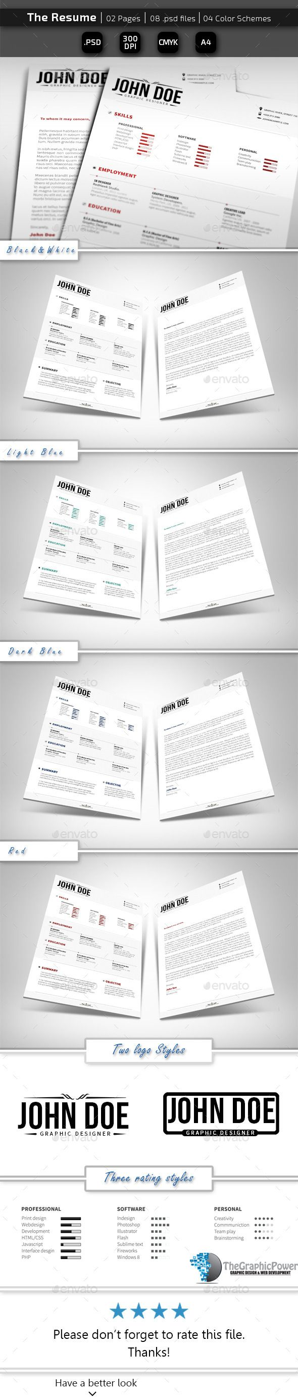 26 best modern cv sample images on pinterest resume templates the resume cs3 85x11 clean clean cv clean resume print templatesresume templatesdesign yelopaper Images