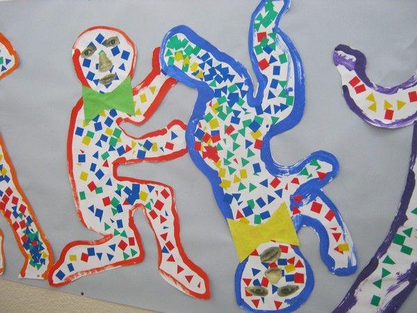 fresque Léger-Haring chez Pierrick