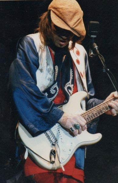 Stevie Ray Vaughan, a force of nature...Portland, Maine, July 4th... I wish I knew the year.  I'm not sure if the date is off or the city, but he was never in Portland ME on July 4 for a tour date anyway