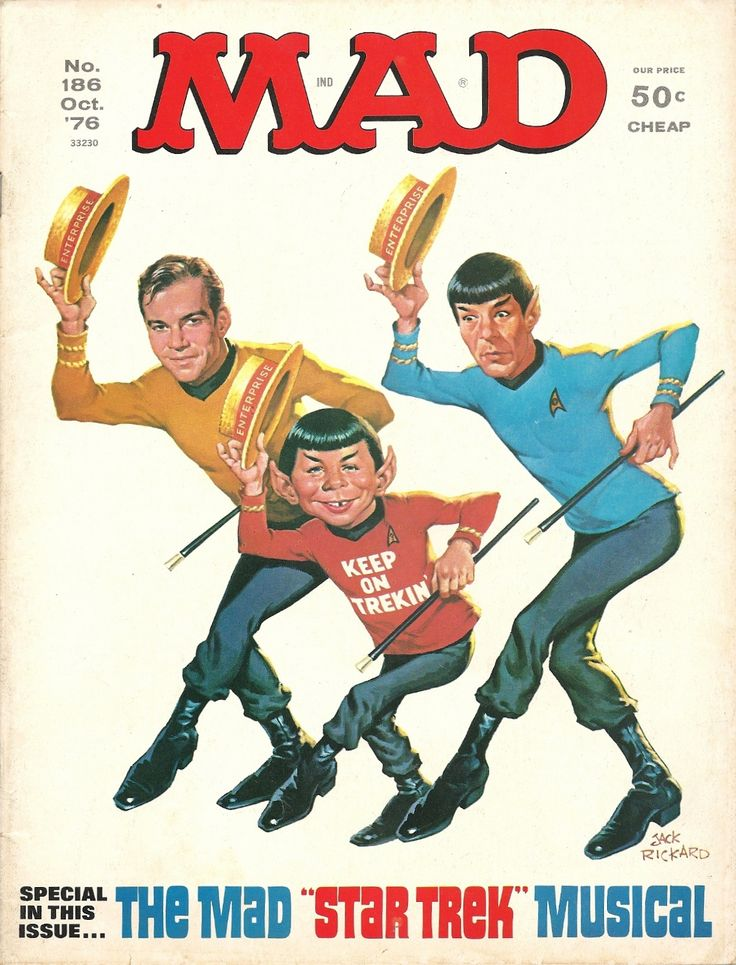 Mad Magazine - Star Trek