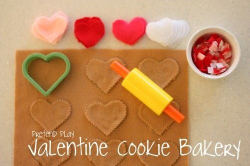 Pretend Play: Valentine Cookie Bakery - Re-pinned by @PediaStaff – Please Visit http://ht.ly/63sNt for all our pediatric therapy pins