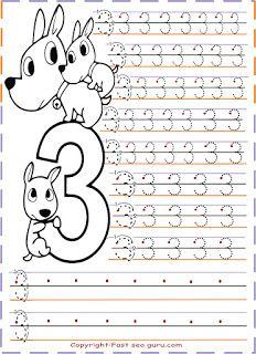 bir dünya zeynep . . .: number tracing worksheets... sayı çalışma sayfaları...