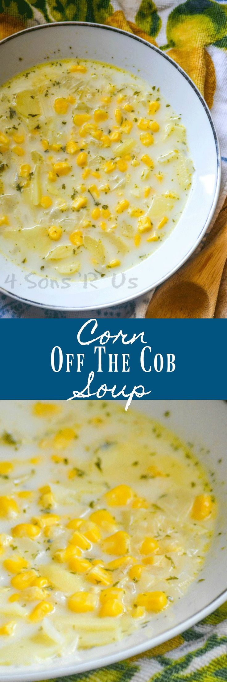 There's nothing better than biting into a buttered, salted corn on the cob at a Summer meal. Ditch the juices running down your chin, but enjoy those same flavors you love in this yummy Corn Off The Cob Soup.
