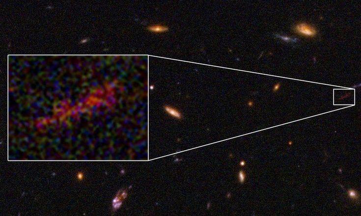 Fenômeno conhecido como lente gravitacional permitiu obter imagem detalhada que pode abrir caminho para a compreensão da evolução deste tipo de corpo celeste.