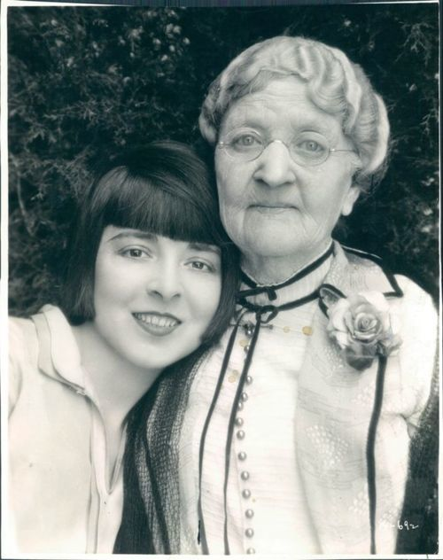 Colleen Moore and her grandmother