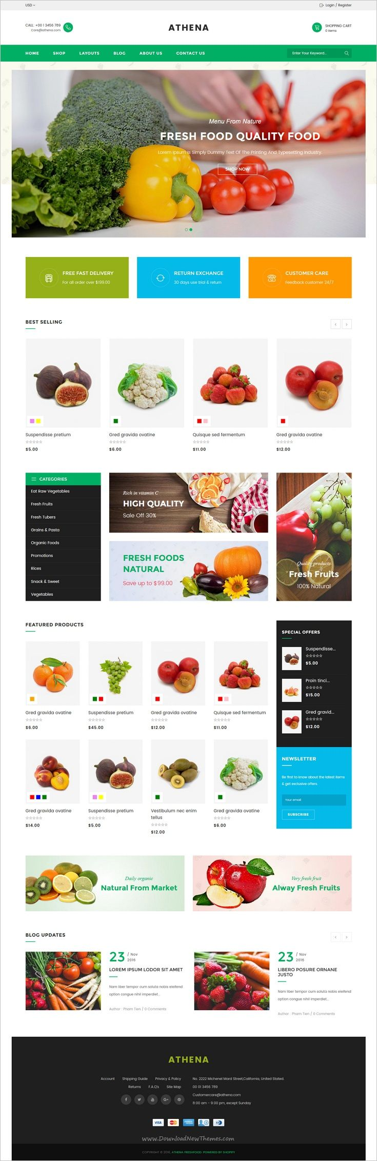 JMS Athena is a multipurpose responsive #Shopify theme for online #organic #freshfood eCommerce website with 16 unique homepage layouts download now➩  https://themeforest.net/item/jms-athena-ultimate-multipurpose-responsive-shopify-theme/19163078?ref=Datasata