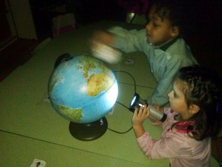 Para entender la relación de la Tierra, la luna y el sol, nada mejor que hacerlo experimentando.  Ya sabemos que la Tierra gira sobre sí mis...