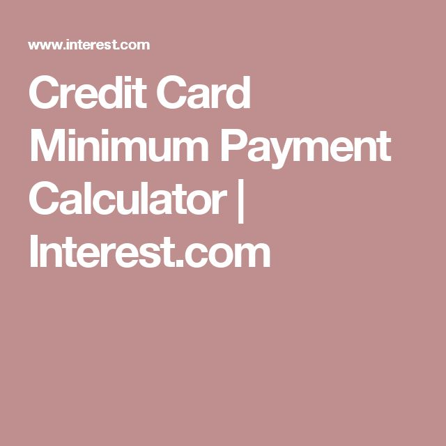 25 best Financial Calculators images on Pinterest Calculator - credit card payment calculator