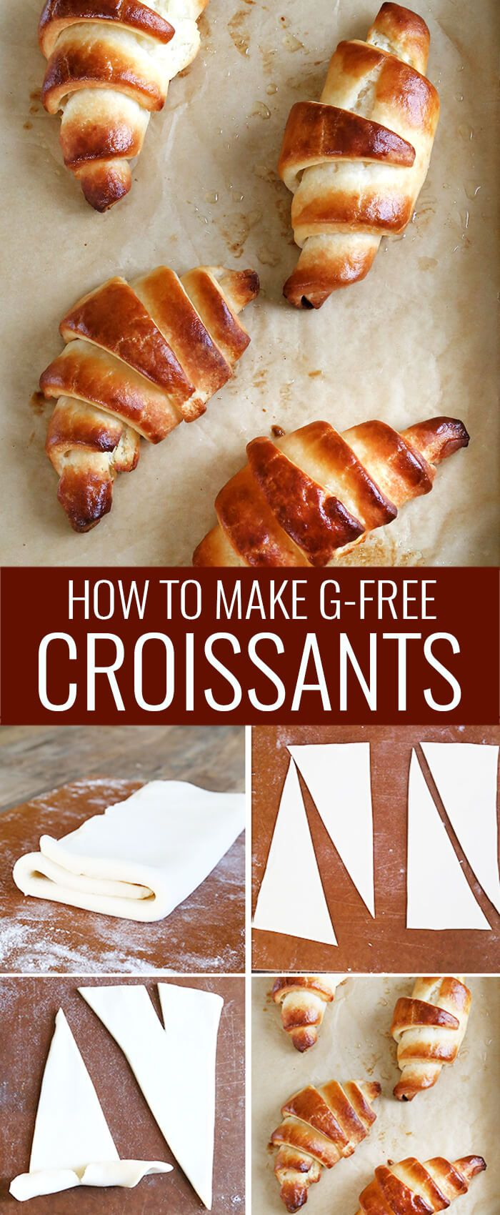 If you've ever wondered whether you could really make truly light and flaky gluten free croissants at home, this is the recipe and these are the step by step photos that will convince you forever. Yes you can! http://glutenfreeonashoestring.com/gluten-free-croissants/