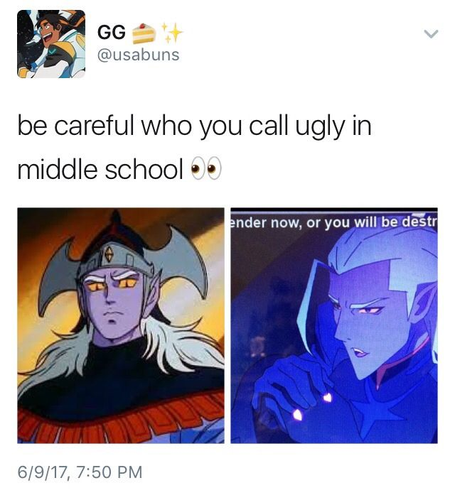 Prince Lotor. Why does the universe feel the need to keep making the bad guys sexy!?