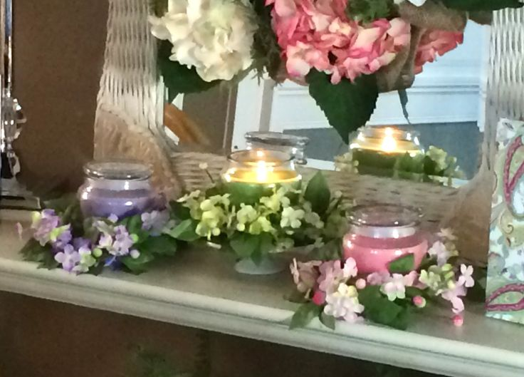 What a wonderful gift set, set of 3 includes candle jars; garlands and paisley gift bags. H202363  http://qvc.co/-Shop-ValerieParrHill