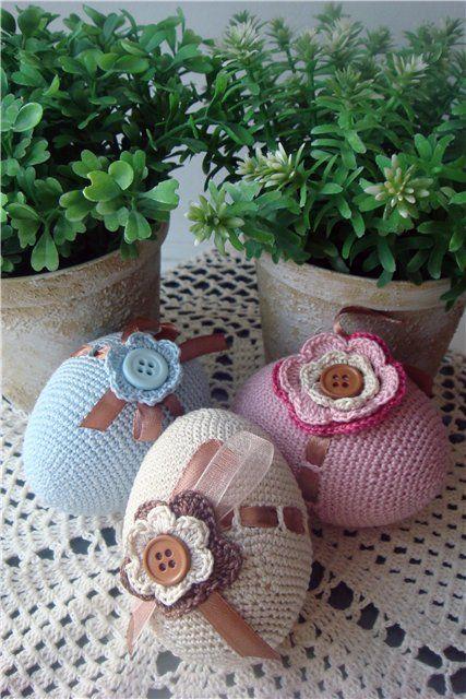Crochet eggs...