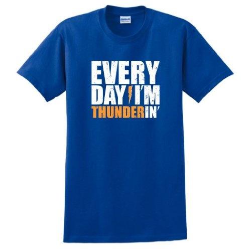 Everyday I'm Thunderin' Short Sleeve T-Shirt Oklahoma City OKC Basketball OK Lightning Thunder Short Sleeve Tee - http://www.nbamixes.com/everyday-im-thunderin-short-sleeve-t-shirt-oklahoma-city-okc-basketball-ok-lightning-thunder-short-sleeve-tee - http://ecx.images-amazon.com/images/I/41thlp-HRnL.jpg
