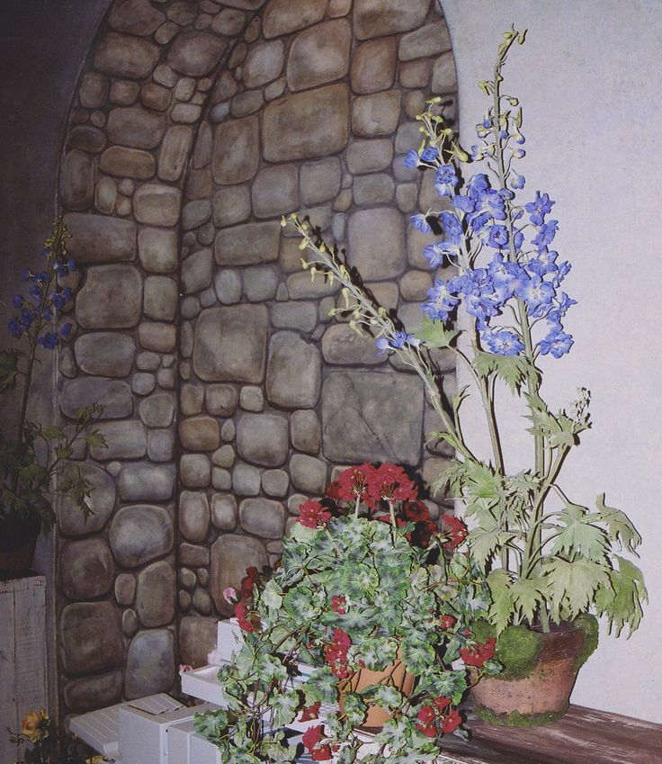 Stone Wall Art : Best images about trompe l oeil on pinterest stains
