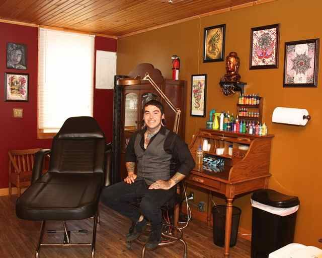 12 best waiting room images on pinterest office waiting for Tattoo shops in plano