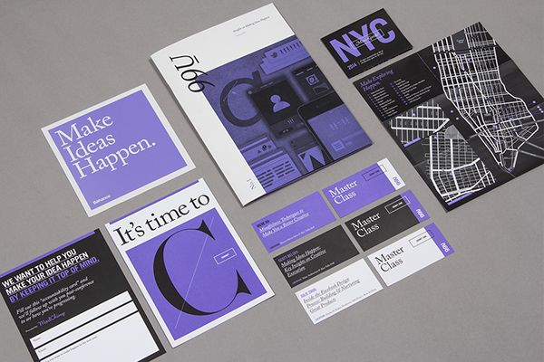 99U Conference :: Branding Collateral 2014 on Behance
