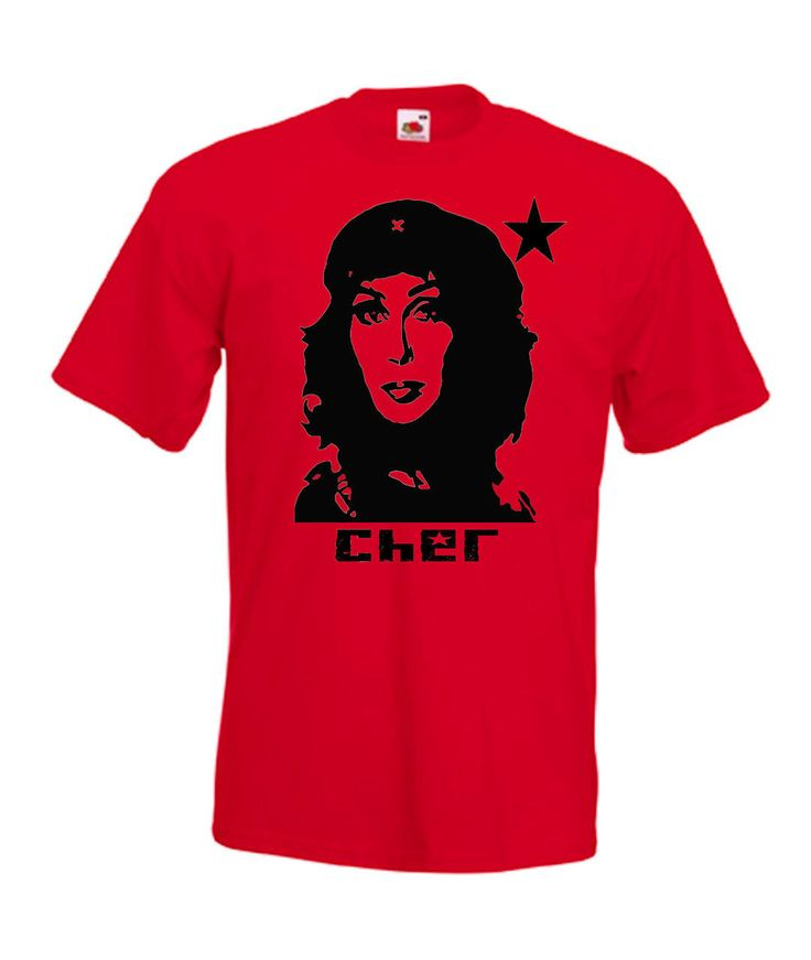 Cher Guevara Funny Retro Rock Music T Shirt / Hoodie | Beware The Moon Clothing
