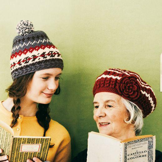 かぎ針編みのビーニー帽子のアイデア☆レトロな模様で老若男女、誰にでも似合うデザイン♡