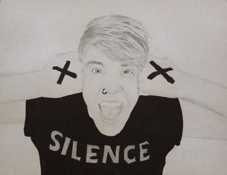 My drawing of Patty Walters, lead singer of As It Is! I'm ...