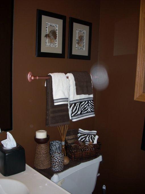 Adorable Zebra Print Bathroom Ideas of Minimalist Design: Great Zebra Print Bathroom Ideas White Towel Design ~ stepinit.com Bathroom Designs Inspiration