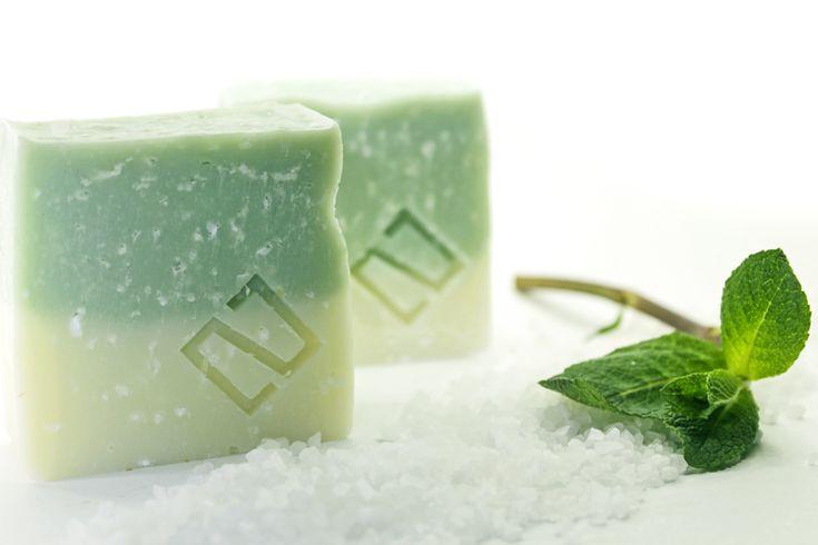 Mint & Salt scrub soap