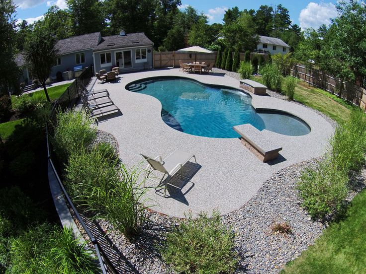 Specialty Pool Features Gallery Northern Pool Spa Me Nh Ma In 2021 Swimming Pool Construction Swimming Pools Inground Dream Pools