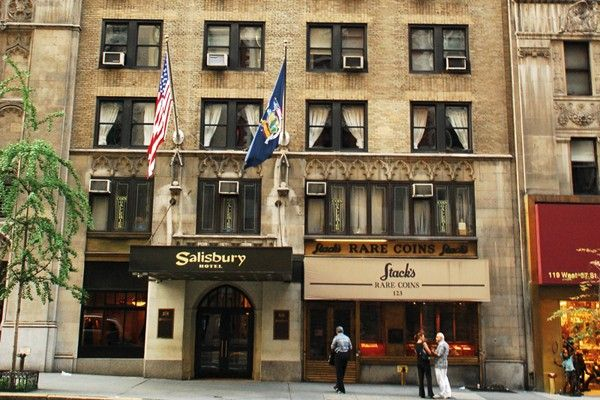 Salisbury Hotel - New York - Our hotel