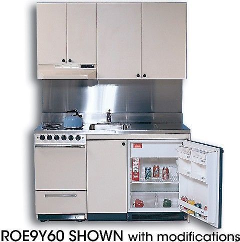 Stunning Acme Mini Kitchens Compact Acme Kitchenettes ROEY Compact Kitchen with Stainless Steel