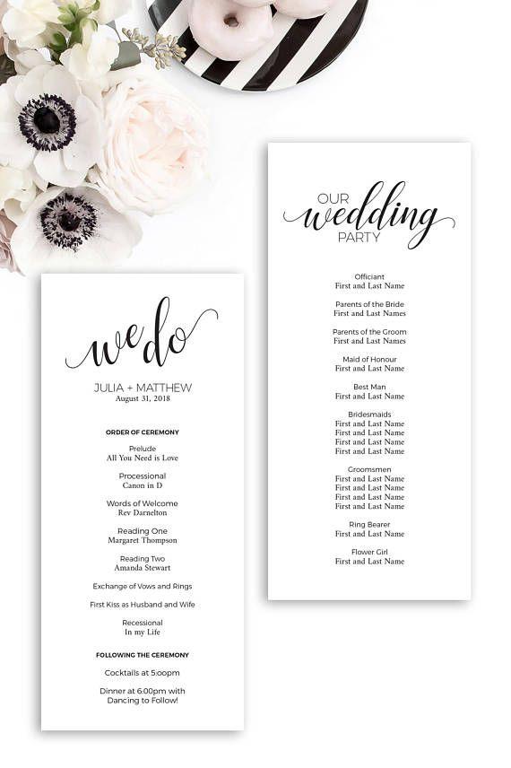 Programs Wedding Church Programs Wedding Reception Program Wedding Program Examples