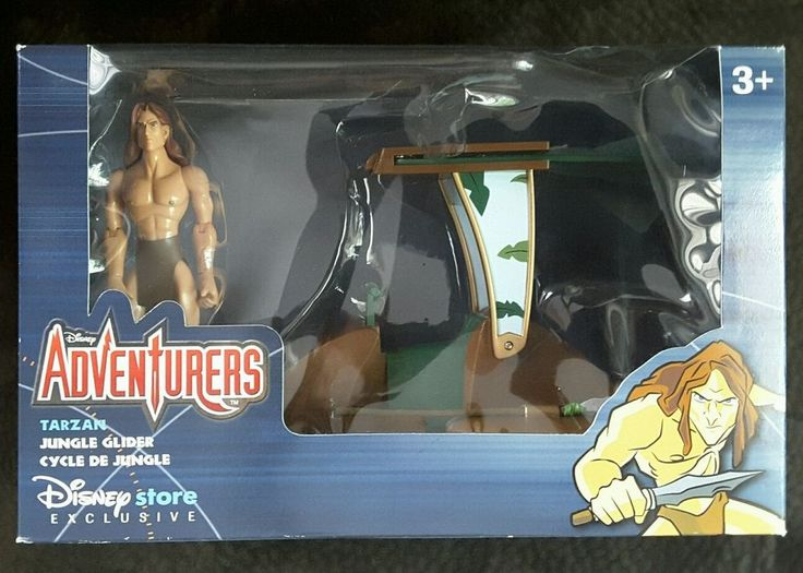 Vintage Tarzan Disney Store Exclusive Jungle Glider Adventurers new 1999 Rare #Disney