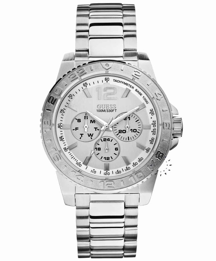 GUESS Multi Function Stainless Steel Bracelet Η τιμή μας: 194€ http://www.oroloi.gr/product_info.php?products_id=36276