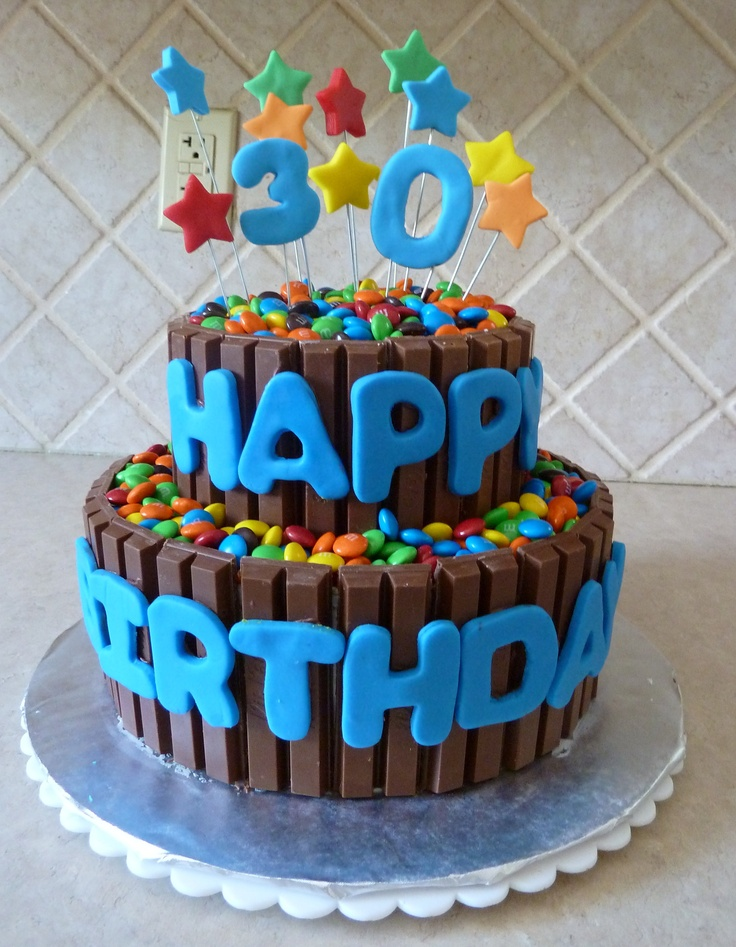 48 best Cakes images on Pinterest Kit kat cakes Desserts and
