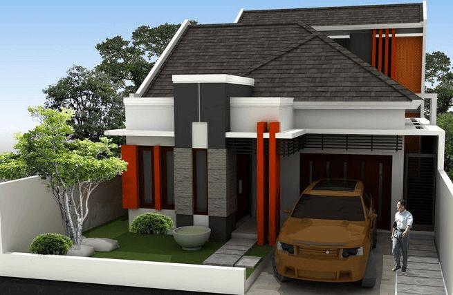Contoh Rumah Minimalis Modern Type 36 45 70 Terbaru ...