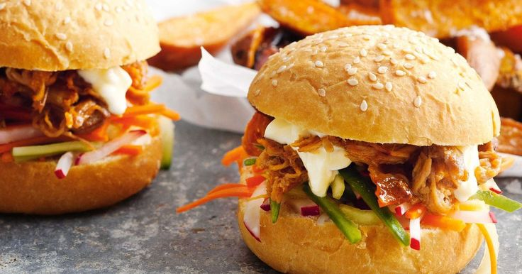 These easy pork sliders a gourmet fave that will impress the whole family.