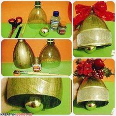 Dekorativní vánoční zvoneček