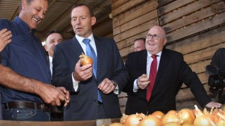 July 8, 2015 In my hand I hold the key to our economic survival (image from theadvocate.com.au)I have been rummaging through articles at The AIMN looking for totally bizarre comments from Tony Abbo... http://winstonclose.me/2015/07/08/tony-abbott-puts-his-faith-in-an-onion-written-by-roswell/
