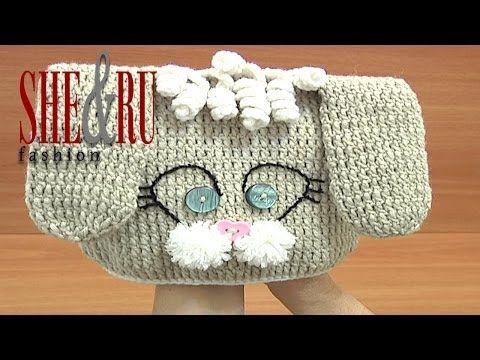 Crochet Bunny Hat For Kids Tutorial 1 Part 3 of 3 Gorro crochet - YouTube