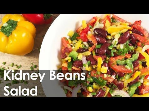 Kidney Beans Salad | Rajma Salad | Healthy Recipe | Honey Mustard Dressing| How to Cook - YouTube