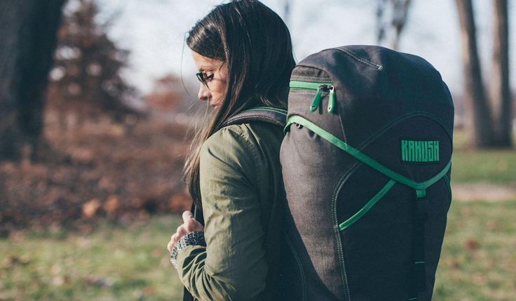 The Kahush Bags include Hennep, a disc golf bag; Asa, a rugged backpack; and Dr. Hänf, a modern duffle.